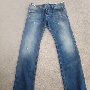 Diesel regular slim straight men's jeans